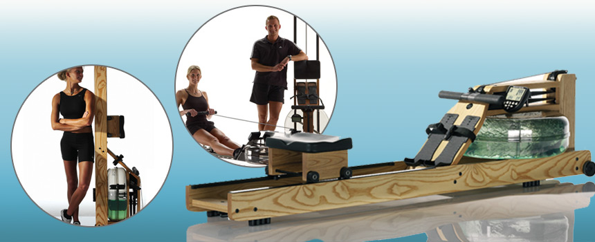benefits of a rowing machine at home