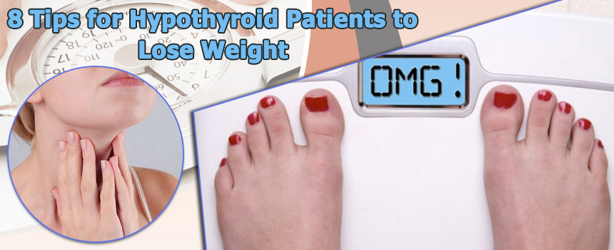 how to lose weight without a thyroid gland