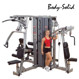 DGYM – S – 4 STACK BASE WITH WEIGHT STACKS