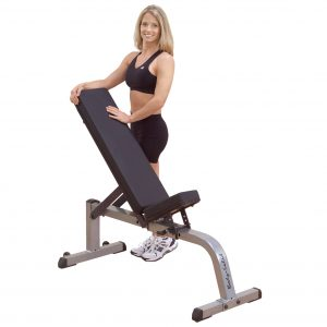 GFI21- COMMERCIAL FLAT/INCLINE BENCH