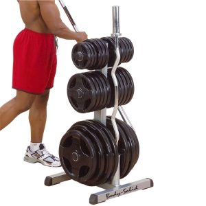 GOWT- Olympic Weight Tree & Bar Rack