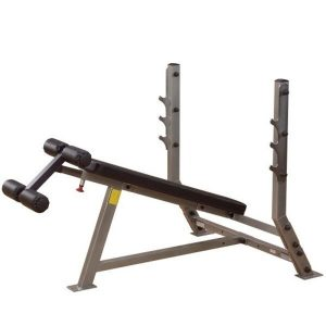 SDB-351G+SPS-12- Pro Club Line Decline Olympic Bench