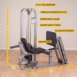 SLP-500G/2- Pro Club Line Leg Press Machine