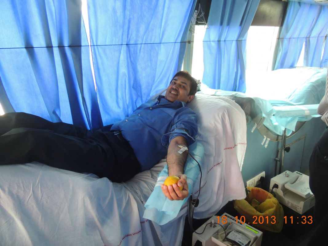Blood Donation Camp (2013)