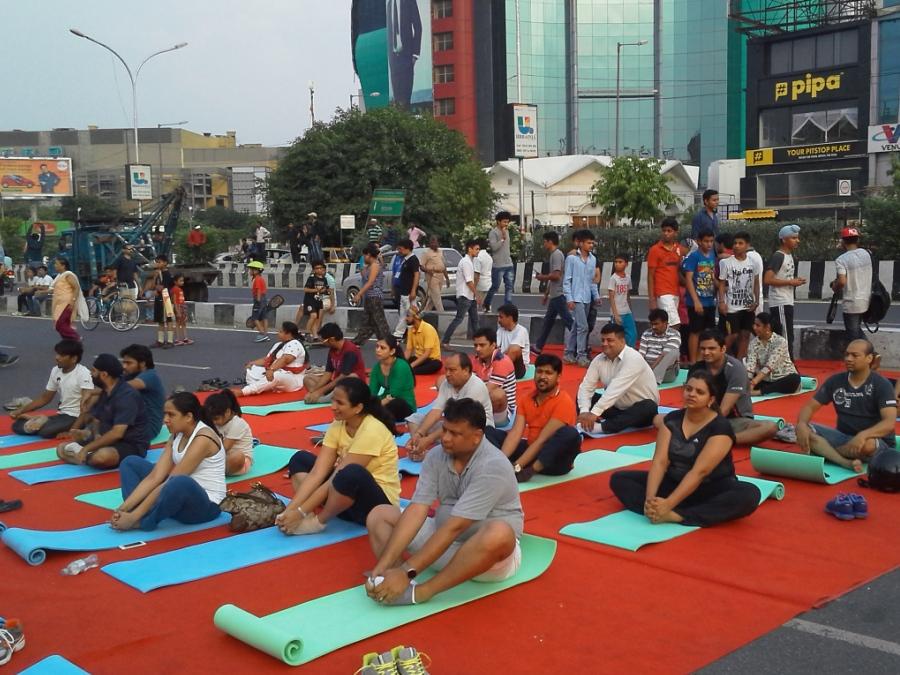 International Yoga Day (2016)