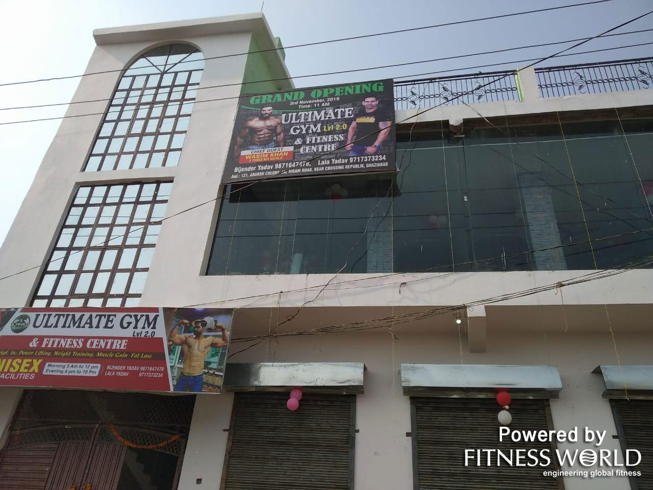 Ultimate Gym and Fitness Center – Ghaziabad