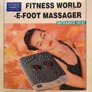 FITNESS WORLD E-FOOT MASSAGER